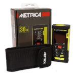 metrica producto laser 30m caja y estuche