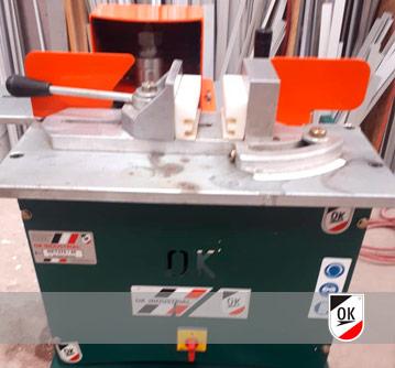 OK Industrial S.R.L. - Fresadora 270-45 + Fresas