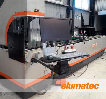 Elumatec - Centro de mecanizado CNC